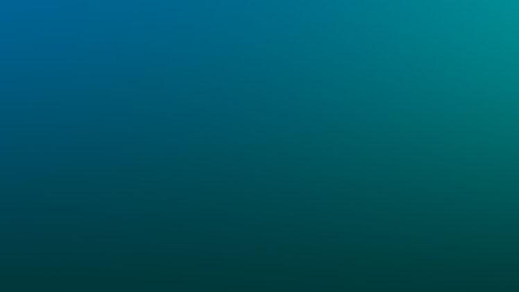 minimalism, Blue, Green, Gradient Wallpapers HD / Desktop and Mobile