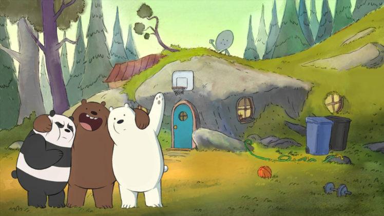3d Cartoon Love Wallpaper Download We Bare Bears Cartoon Wallpapers Hd Desktop And Mobile