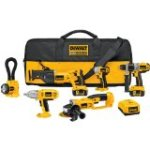 Check out:  DEWALT DCK675L 18-Volt 6-Tool Cordless Combo Kit with NANO Technology