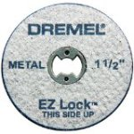 More about   Dremel EZ456 1-1/2-Inch EZ Lock Rotary Tool Cut-Off Wheels for Metal, 5-Pack