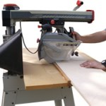 Using a Radial-Arm Saw