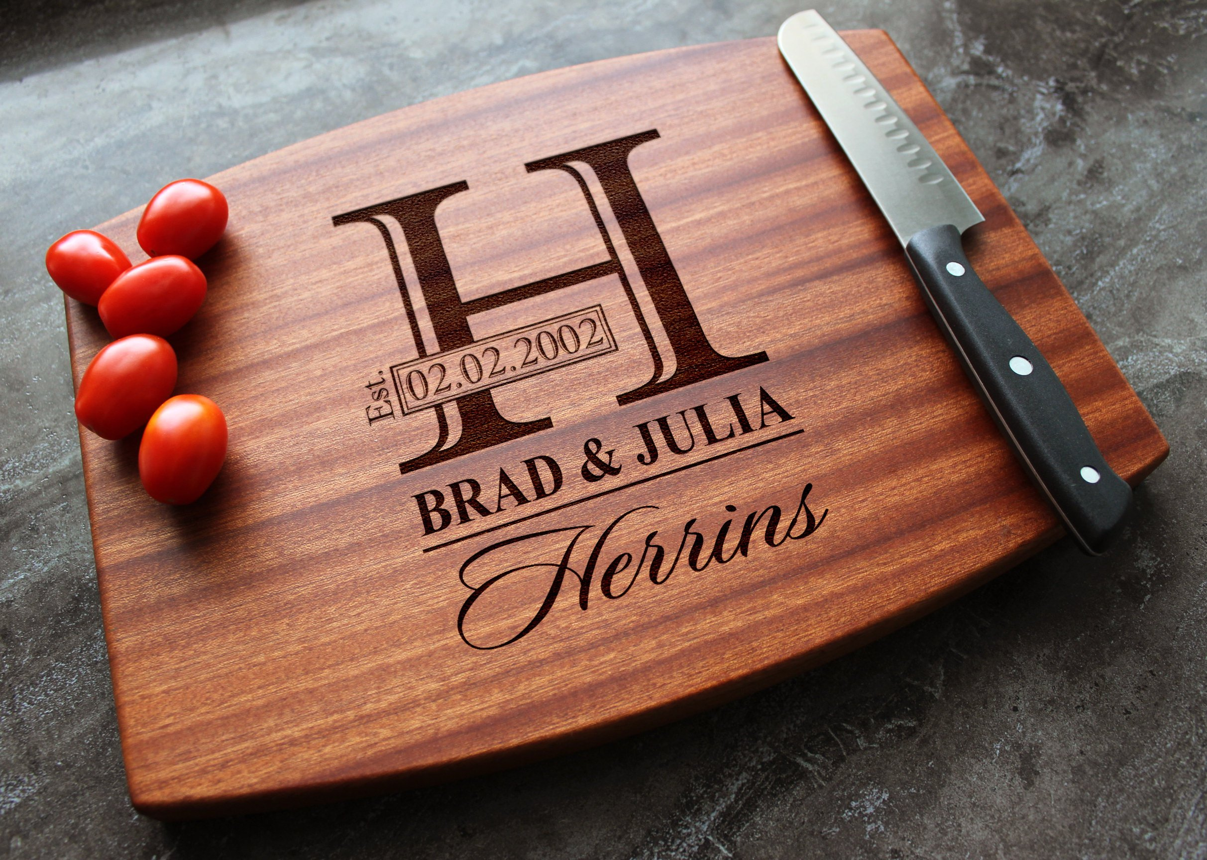 Personalized House Warming Gift Personalized Cutting Board Engraved Cutting Board