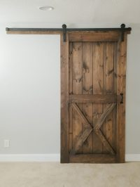 Horizontal Plank Sliding Barn Door - Walston Door Company