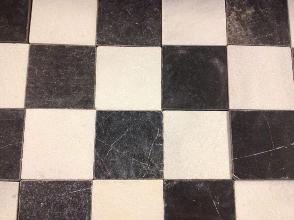 Zwart wit geblokt vinyl bol flexxfloors vinyl vloer portugese