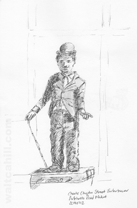 Charlie Chaplin Street Entertainer