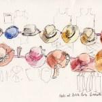 Portobello Hats: Portobello Road Market