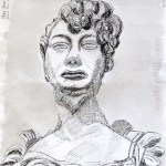 Mary Anne Clarke: Drawn from the marble bust of Mary Anne Clarke by Lawrence Gahagan.