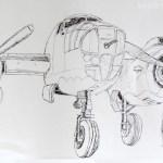 North American B25 Mitchell: RAF Museum Hendon