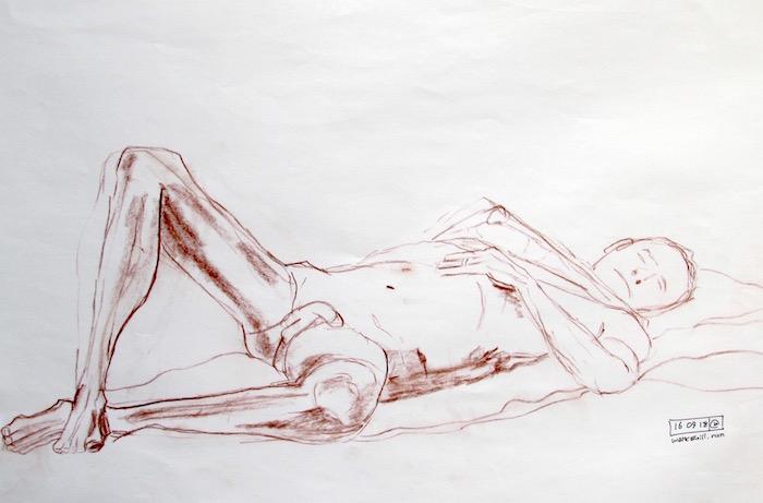 Stevenage Life Drawing #19
