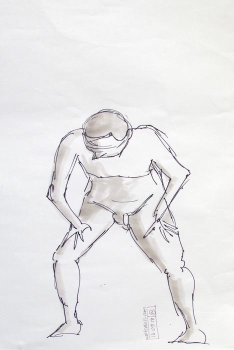 Stevenage Life Drawing #20