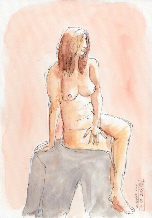 Covent Garden Life Drawing #240