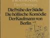 Die höllische Komödie - Drei Dramen (1981)