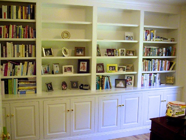 Bookshelves With Base Cabinet Walterswoodworkingcom