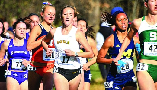 Eating disorders are more prevalent in endurance sports such as cross country running.