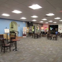 Renovations in the first-floor lobby of Walton Hall have created a space that is able to accommodate large groups. These are only a few of the renovations the Eastern community has seen in January. Other projects outlined in Phase I of the Master Plan will be completed as they are funded by donors.