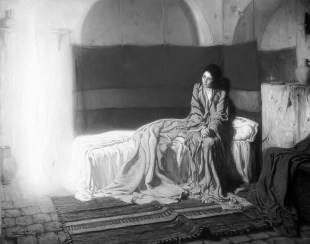 """Henry Tanner's """"The Annunciation."""""""