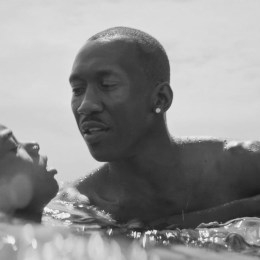Juan teaches Chiron how to swim in a lovely scene from Moonlight.