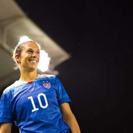 Carli Lloyd of the U.S. Women's National Soccer Team is one of the leaders in the women's fight for equal pay.