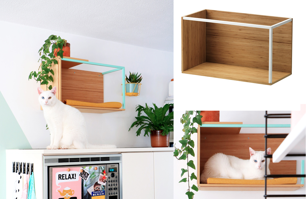 Ikea Hacks 7 Meowellous Ikea Hacks For Cat Lovers Walyou