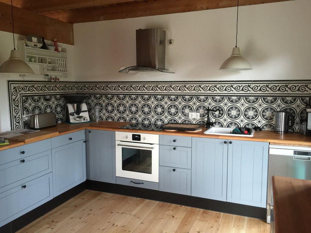 Retro Fliesen Küche | Küche Fliesen Boden Grau