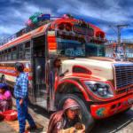 Ein Chicken Bus
