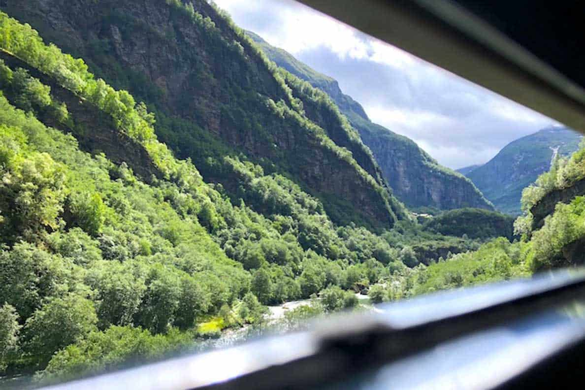 Norway Train Flamsbana Railway The Most Beautiful Train Ride In The World