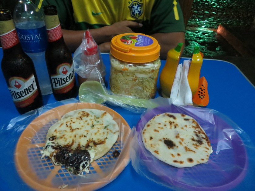 Pupusas in Suchitoto