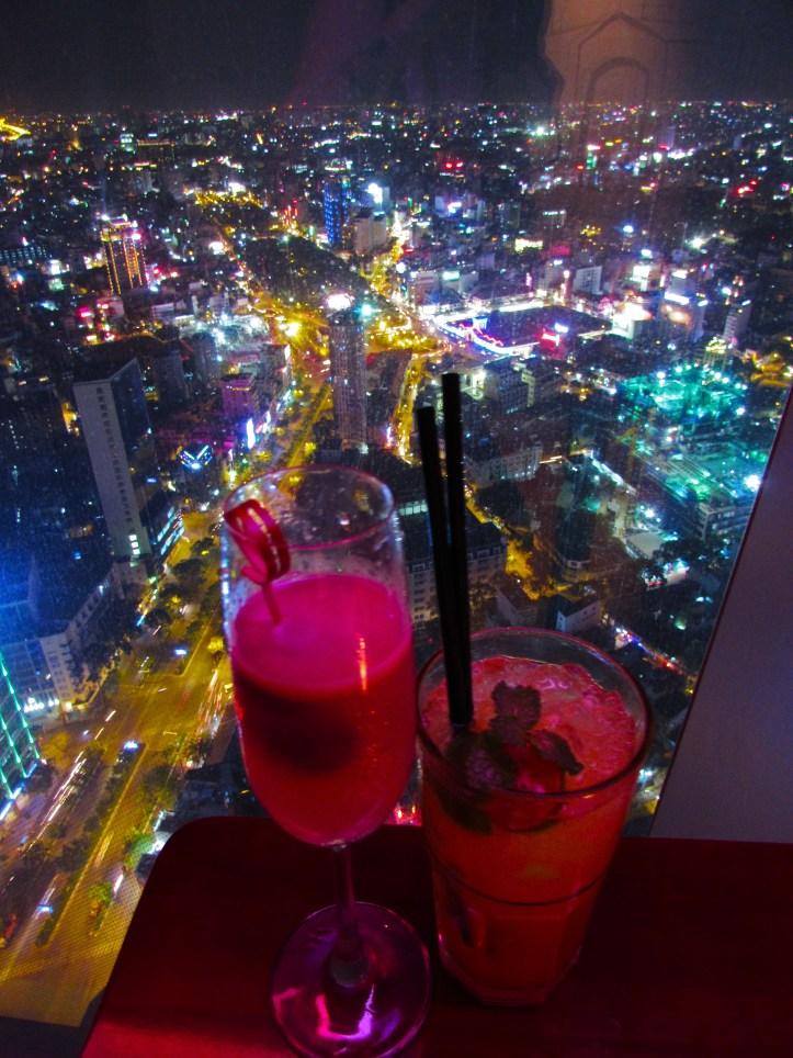 Cocktails in HCMC or Saigon Vietnam