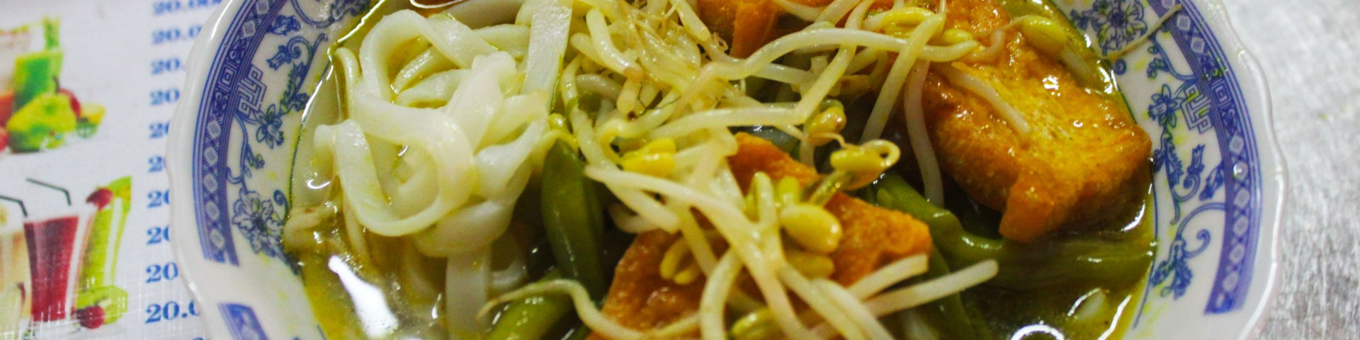 vegetarian tofu soup Vietnam