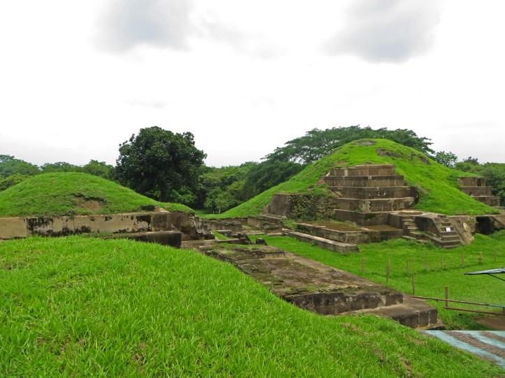 Mayan temple, El Salvador