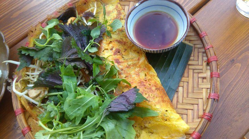 Vietnamese crispy pancake soy berlin