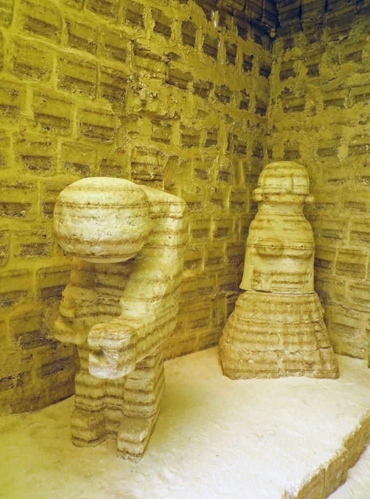 Salar de Uyuni salt museum figures