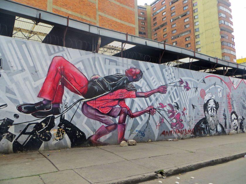 Bogota street art mural