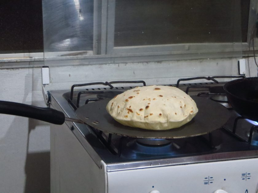 Tortilla Honduras Baleada Vegetarian Latin American Food