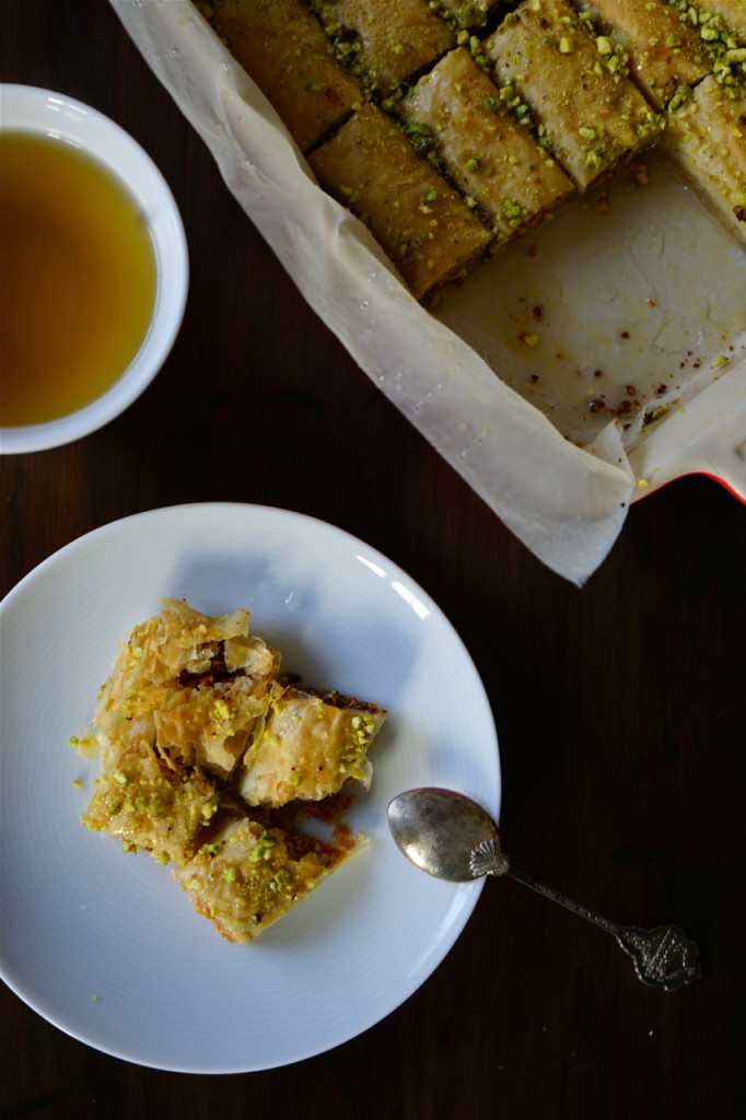 How To Make An Easy Kitchen Island Easy, Flaky Cashew Baklava Fingers | Wandering Spice
