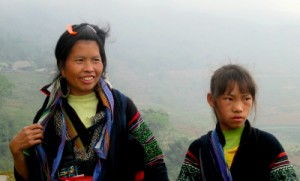 Mother and Daughter in Sapa