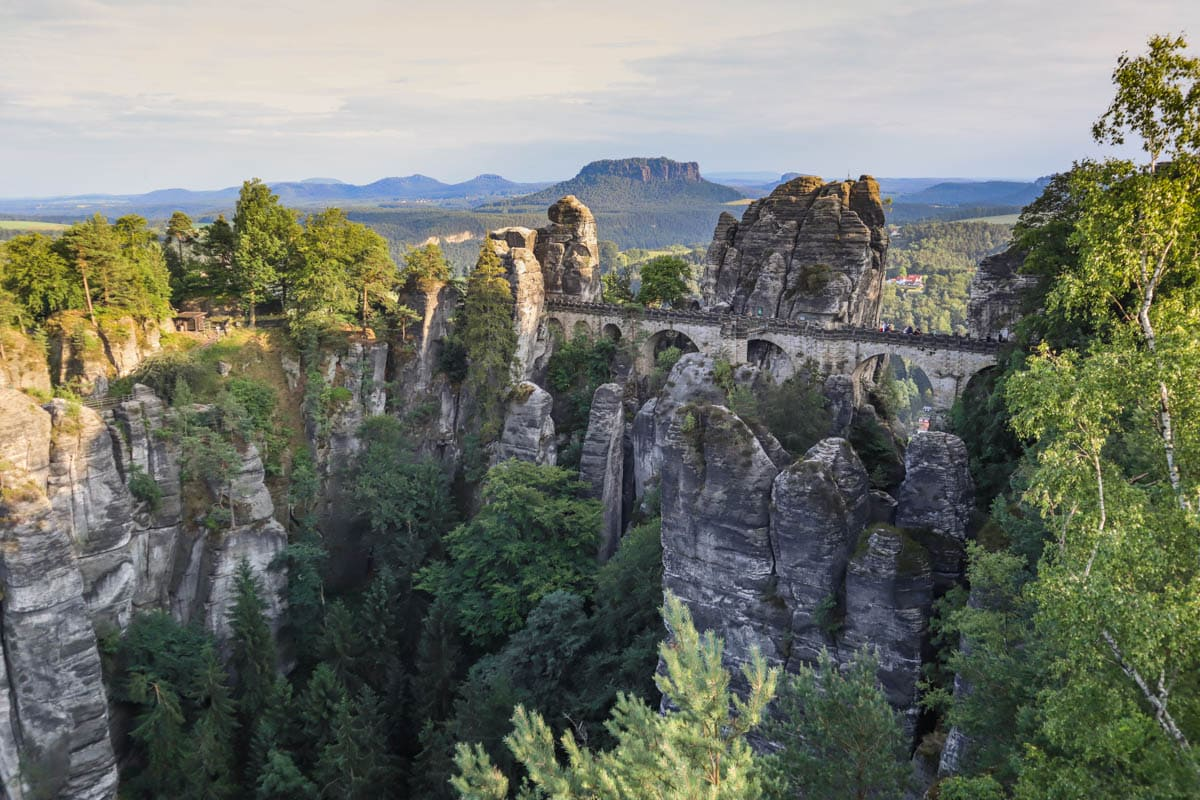 Miles And More Schweiz Exploring The Bastei Bridge And Saxon Switzerland Germany