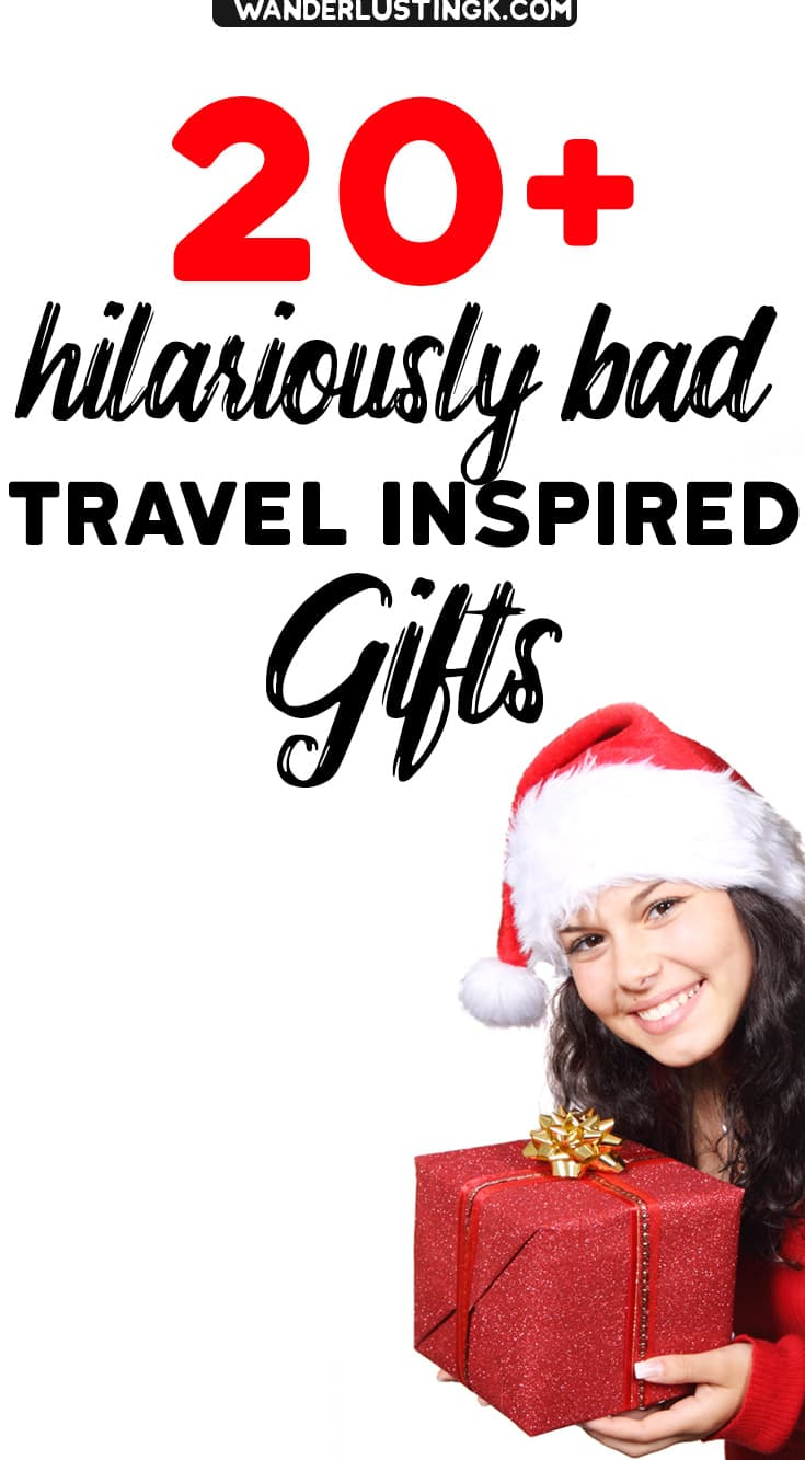 Christmas Gift For A Friend Worst Christmas Gift Ever Funny Bad Travel Gifts For Friends