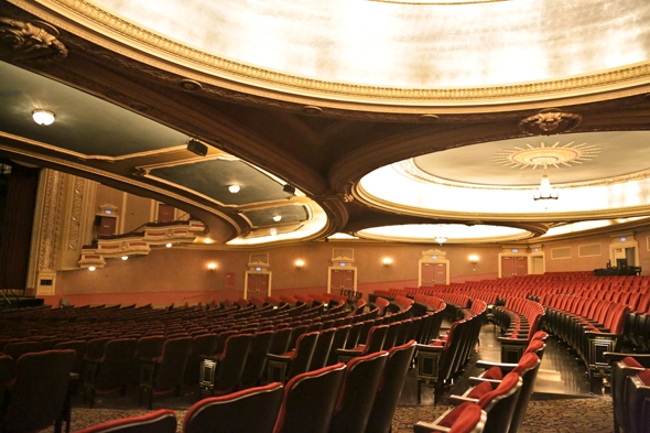 A Peek Behind the Scenes at the Orpheum Theater Wander The Map