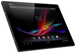 Ультратонкий планшет Sony Xperia Tablet Z на андроид 4.1