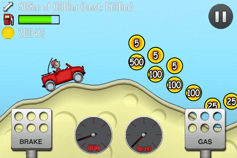 Hill Climb Racing (MOD, много денег) - android …