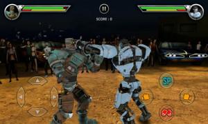 REAL STEEL FREE игра для андроид в жанре