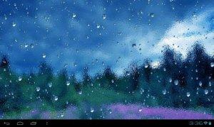 Rain On Screen - Живые обои дождя для андроид