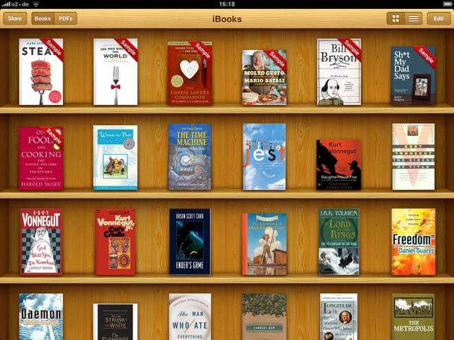 Приложения для чтения книжек для apple