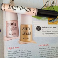 Highlight of the Day- Benefit Watt's Up & High Beam