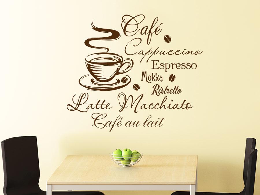 Wandtattoo Küche Kaffeetasse   Tasse Mit Spruch - Angebote Auf Waterige