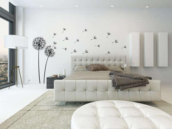 Schlafzimmer Wandtattoos