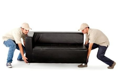 moving sofa with w&wmovers