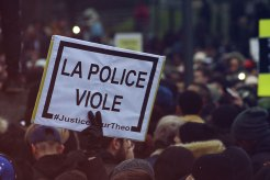 Justice pour Theo - Manif