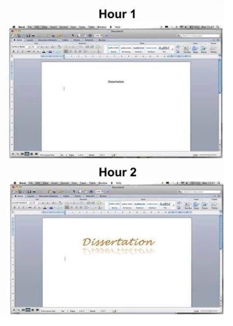 Using the advantages of Microsoft Word